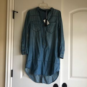 Brand new with tags, denim tunic from tencel